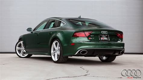audi rs  verdant green    bentley