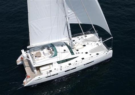 lady alliaura luxury sailing catamaran yacht privilege