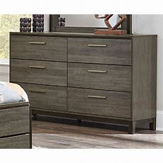 Gray & Black Contemporary Dresser  Oxon  Rc Willey