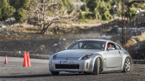 Oliver Kik Drifting His Nissan 350z In Zeraaya On 26