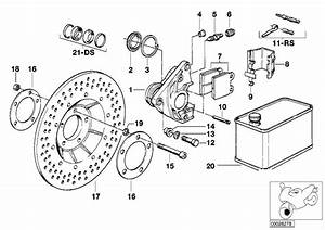 1979 Bmw R65 Repair Kit  Brake Pads  Disc  Caliper