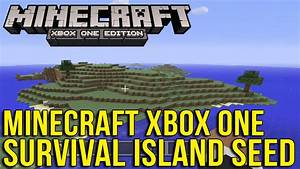 Minecraft Xbox One Survival Island Seed YouTube