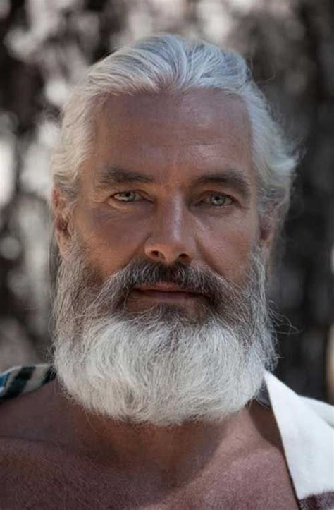 guy  white hair mens hairstyles  face