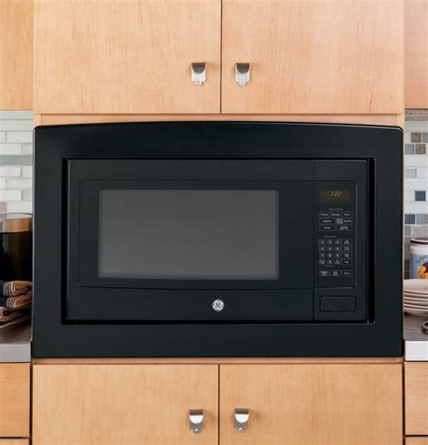 ge countertop microwave ge peb7226dfbb 2 2 cu ft countertop or built in