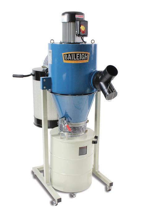 hp cyclone dust collector dc  baileigh industrial