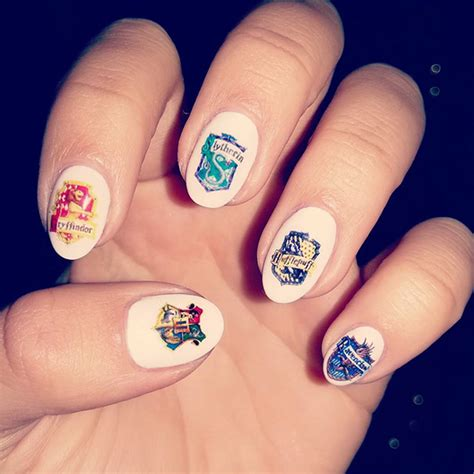 harry potter nail art ideas   pure magic womans vibe
