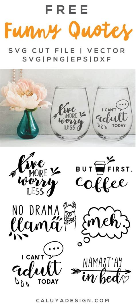 Making a cricut mat sticky again. FREE Funny Quotes SVG, PNG, EPS & DXF By   Cricut, Free ...