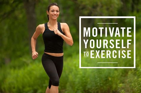 Motivate Yourself to Exercise - CBPT