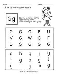 preschool worksheet gallery  printable letter