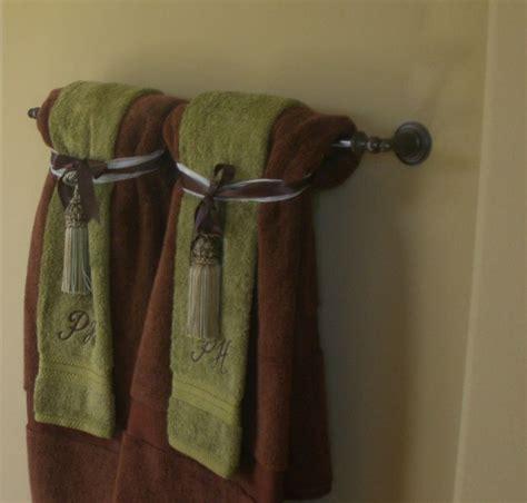 bathroom towel bar ideas hanging bathroom towels decoratively bathroom