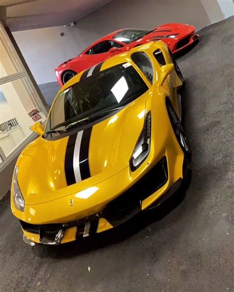 """Technically, the ferrari 488 pista encompasses all of the experience built up on the world's circuits by the 488 challenge and the 488 gte. Ferrari 488 Pista on Instagram: """"What a yellow 😍😍😍 Just added this to our story and I had to ..."""