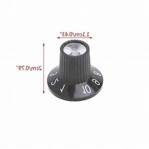 1pc Guitar Knob Amplifier Skirted Knobs Volume Tone