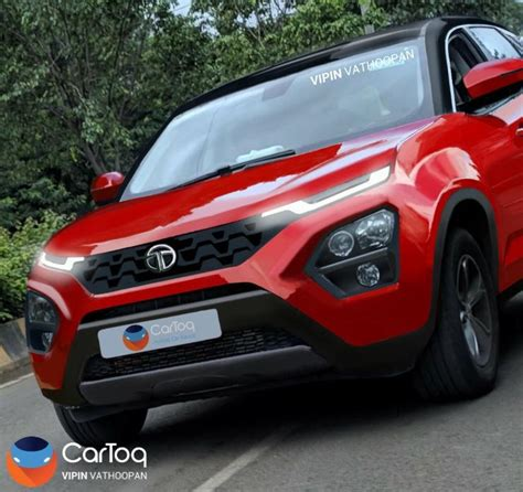 Tata Harrier Suv What Its Front End Will Look Like