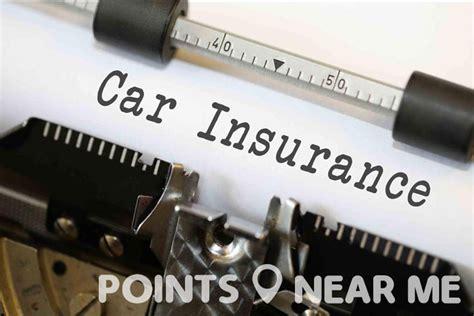 car insurance companies   points