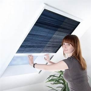 Vorhang Tür Wärmeschutz : plissee f r dachfenster fliegengitter insektenschutz 110 c ~ Orissabook.com Haus und Dekorationen