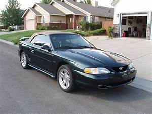 Pacific Green 1998 Ford Mustang GT convertible For Sale - MustangCarPlace