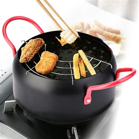 mgaxyff fryer pot frying pothousehold kitchen cooking