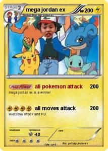 Pokemon mega jordan ex