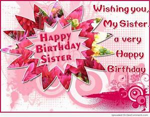 Birthday Wishes for Sister Pictures, Images, Graphics for ...