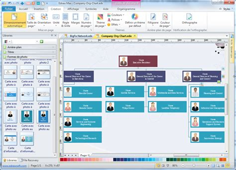 logiciel organisation bureau logiciel d 39 organigramme téléchargement des modèles et des