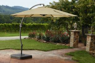 garden oasis yjaf 013 11 5 ft steel offset umbrella w base sears outlet