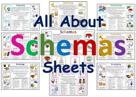 Image Schema All About Schemas Sheets Mindingkids