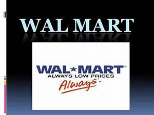 wal mart authorstream With walmart powerpoint template