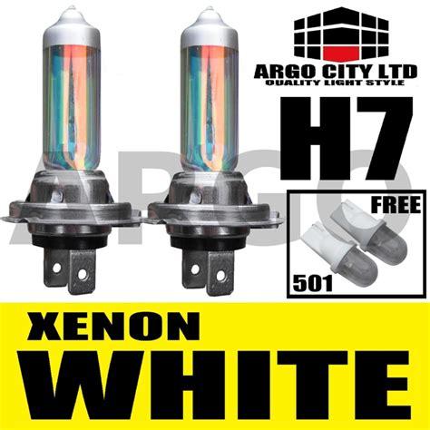 h7 xenon white headlight bulbs smart forfour fortwo