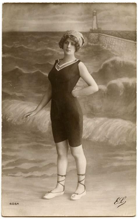 vintage bathing suit photo cute lady  graphics fairy
