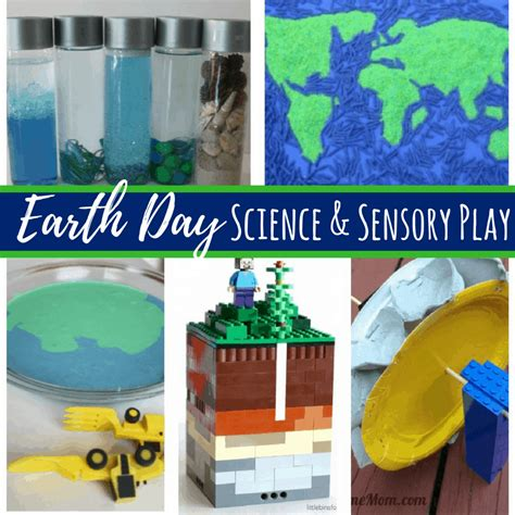 earth day science experiments  sensory activities  kids