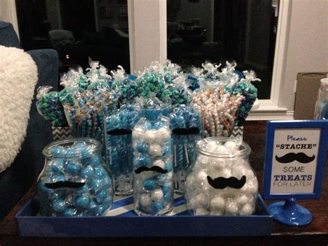 Little Man Mustache Bow Tie Bash Candy For The Buffet