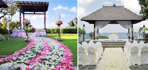 bali resort spa secret garden wedding ceremony