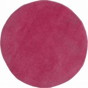 tapis rose rond rose diam700 mm leroy merlin With tapis rond rose