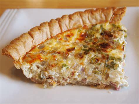 ham and swiss quiche ham and cheese breakfast quiche recipe dishmaps