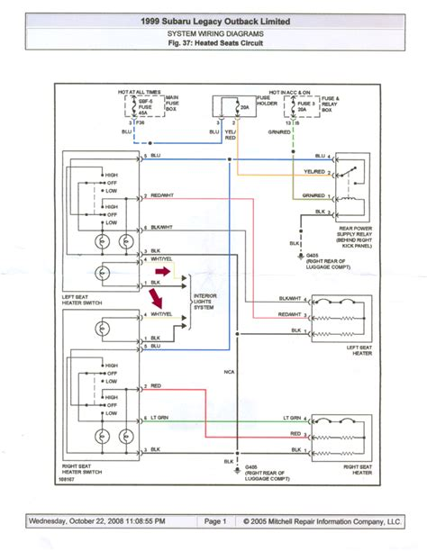 Wire Diagram 99 Forester by Subaru Baja 2 5 2003 Auto Images And Specification