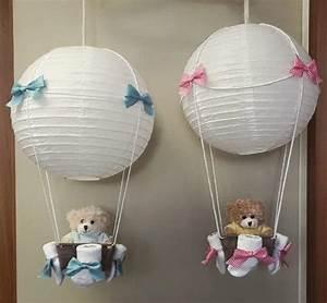 Baby Geschenk Basteln : baby lampe ballon geschenk pinterest ~ Frokenaadalensverden.com Haus und Dekorationen