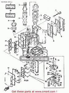 Yamaha Pro V 150g 1988 Repair Kit 1