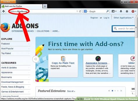 How To Add Medical Spell Check To Firefox 6 Steps (with Pictures