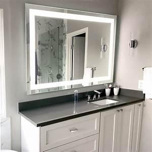 Front-lighted, Led, Bathroom, Vanity, Mirror, 60, U0026quot, X, 40, U0026quot