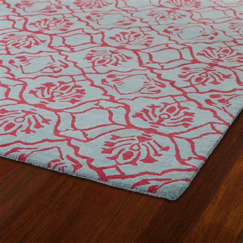 blue and pink rug evolution damask rug in pink and blue