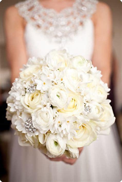10 beautiful white wedding bouquets part 1 flowerona