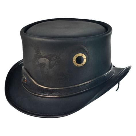 top hat table l head 39 n home kraken leather top hat top hats