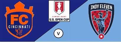 Cup Open Cincinnati Fc Advance Match Win