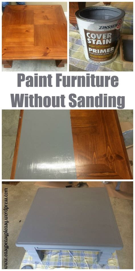diy table  ottoman    paint furniture