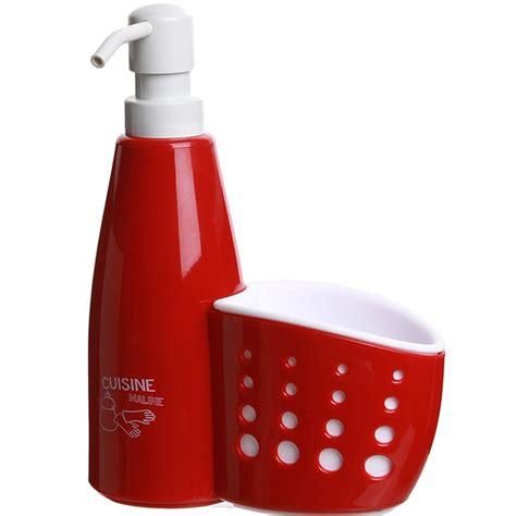 distributeur savon cuisine distributeur de savon pour cuisine avec porte éponge