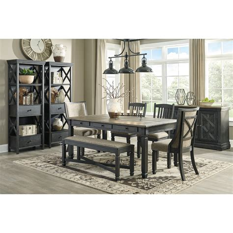 cleveland kitchen cabinets signature design by creek casual dining room 2249