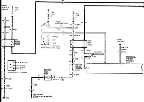 Ltd Crown Victoria Wire Diagram For Fuel Pump Not