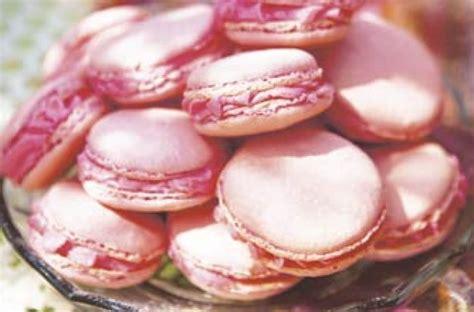 rose pink macaroons recipe goodtoknow