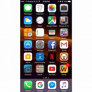 How to disable homescreen rotation on Apple's Plus