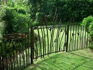 Gartenzaun Aus Metall : gartenz une aus metall bringen mehr stil in den au enbereich ~ Orissabook.com Haus und Dekorationen